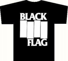 Black Flag - Logo (girl M) Black