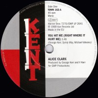Clark, Alice/devonnes - You Hit Me/ I Couldn't Build A World