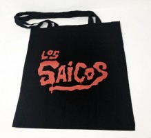 Saicos Tote Bag - Black (red Logo)