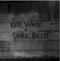 Dark Blue - Red/white
