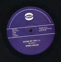 Spanky Wilson/alvin Cash - Kissing My Love/stone Thing Part 1