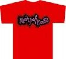 New York Dolls - Logo Spray (girl L) Roja