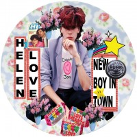Helen Love - New Boy In Town/ Television Generation (picture)