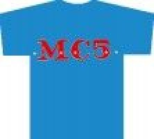 Mc5 - Stars Logo (xl) Azul