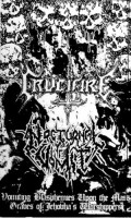 Crucifire/nocturnal Vomit - Split Tape