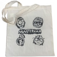 See product: Bolsa De Tela - Munsterama (used White)