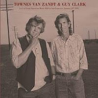 Van Zandt, Townes & Guy Clark - Live At The Great American Music Hall (2lp)