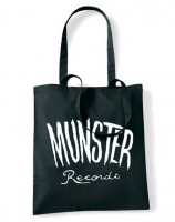 Munster Chantry Tote Bag - Black, White Logo