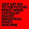 Portada de GNOD - JUST SAY NO TO THE PSYCHO RIGHT-WING CAPITALIST