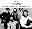 Portada de BAND - LIVE AT THE PALLADIUM, NYC, 1976