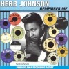 Portada de JOHNSON, HERB - REMEMBER ME