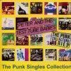 Portada de PETER & THE TEST TUBE BABIES - THE PUNK SINGLES COLLECTION