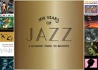 Portada de VARIOUS - 100 YEARS OF JAZZ (10 CD BOX SET)