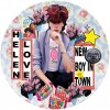 Portada de HELEN LOVE - NEW BOY IN TOWN/ TELEVISION GENERATION (PICTURE)