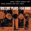 Portada de ROLLINS, SONNY - ROLLINS PLAYS FOR BIRD