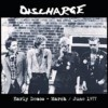 Portada de DISCHARGE - EARLY DEMOS/MARCH JUNE 1977