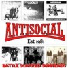Portada de ANTISOCIAL - BATTLE SCARRED SKINHEADS!